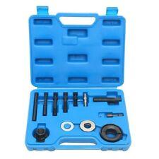 Pulley Puller & Installer   13pc Kit Power Steering Pump Remover Alternator AC