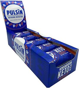 Pulsin Keto Orange Chocolate & Peanut Bar - 18 x 50g