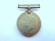 GEORGIVS VI D:G:BR:OMN:REX ET INDIAE:IMP -- World War II Medal 1939–45