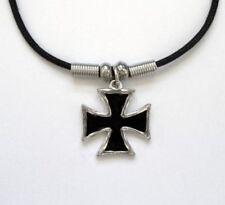 Modeschmuck-Halsketten & -Anhänger mit Kreuz-Biker