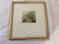 JO BARRY Signed Framed Limited Edition Etching, Spring Showers New Forest Artist