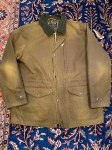 Filson Men's cover cloth Mile Marker jacket XL dark earth color!