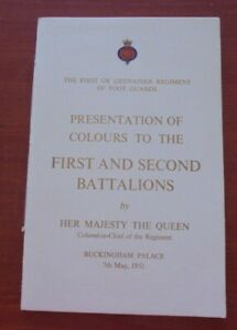 Presentation of colours First & Second Battalions by her Majesty the Queen 1953