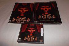 Diablo Ii Bundle (Pc, 2000) Includes Manual, 3 Discs, & Ultimate Strategy Guide