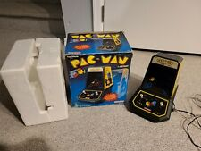 Vintage 1981 Coleco PAC-MAN Tabletop Video Game with Original Box WORKS!