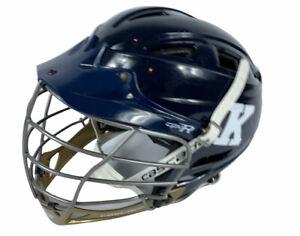 Cascade Lacrosse Full Face Helmet Blue CPV-R Adult X-Small