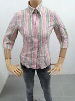 Camicia MARELLA Donna Taglia Size 42 Shirt Woman Chemise Femme Lino P 7296