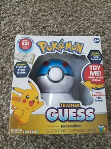 Pokemon Trainer Guess Johto Edition Electronic Guessing Game NEW IN BOX