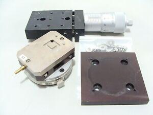 Newport TR80SBL UTR80S Precision Rotation Stage / Rotary Platform + X-Y Linear