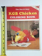 1978 KGB Chicken Coloring Book 1978 Original The One And Only PICTURE STORY