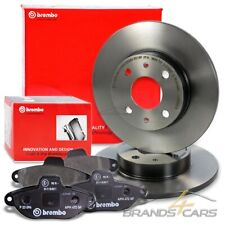 2x BREMBO COATED BREMSSCHEIBE HINTEN VOLL Ø240 FIAT COUPE 1.8 2.0 BJ 93-00