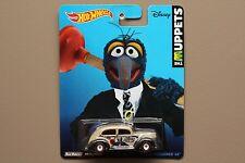 Hot Wheels The Muppets 2014 Gonzo Fat Fendered '40 Car NIB Disney NIP