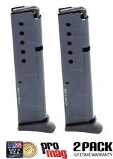 2 PACK ProMag Ruger LCP.380 ACP 10R Magazine w/ Floorplate Steel Blue RUG14 NIB