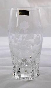 Villeroy & and Boch ANEMONE highball tumbler glass 24% lead crystal NEW handmade