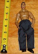 WWF WWE Jakks The Rock Dwayne Johnson Wrestling Figure TTL Finishing Moves