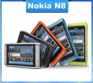"Original Nokia N8 12MP 3G GPS WIFI 16GB Internal Storage 3.5"" Touch Screen"