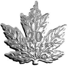 The Canadian Maple Leaf - 2015 $20 Fine Silver Coin