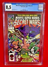 MARVEL SUPER HEROES SECRET WARS #6  MARVEL COMICS 1984 CGC 8.5 JIM SHOOTER STORY