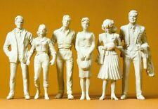 Figurines Preiser 1:24 Échelle G 57820 : 6 Spectateurs
