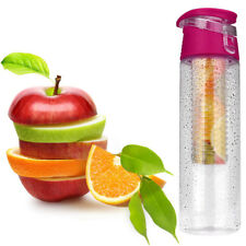 800ML Fruit Infusion Infusing Infuser Water Bottle Sports Health Maker Cup Hot