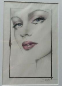 "Jennifer Janesko Originial Art Study 118 Size 11"" by 14"" Mixed Media on Vellum"