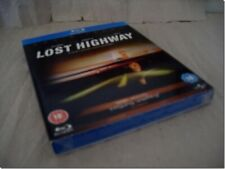 LOST HIGHWAY - DAVID LYNCH with SLIPCASE blu-ray UK RELEASE NEW FACTORY SEALED