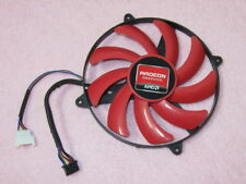 AMD ATI Radeon HD 7990 (3 Fan Model) Video Card Single Fan Replacement R156a