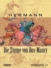 Le torri di Bos-Maury integrale HC #1 (1,2+3) output totale Hermann Hardcover