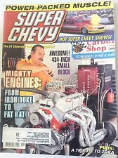 Super Chevy Magazine Iron Duke To Fat Rat September 1996 041717nonrh