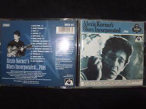CD ALEXIS KORNER'S BLUES INCORPORATED / ....PLUS / RARE /