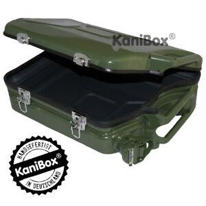 Benzinkanister Koffer Jerrycan Case oliv grün als tolle Geschenkidee Vatertag K