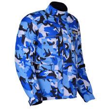 Giacche blu in cordura per motociclista taglia M