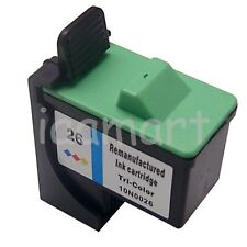 1 Refilled Color Ink For Lexmark 26 x1185 x1240 x1270