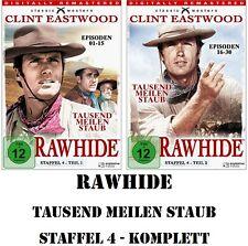 Rawhide - Tausend Meilen Staub - Season/Staffel 4.1 + 4.2, 8 DVD Set NEU + OVP