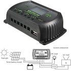 LCD 12/24V Panneau solaire Pile Régulateur Contrôleur de charge AUTO PWM * / USB
