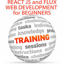 React JS and FLUX Web Development for Beginners - Video Training Tutorial DVD
