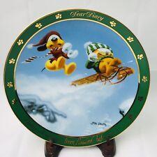 "Garfield Nine Lives 8"" Collector Plate Danbury Mint Dear Diary Series"
