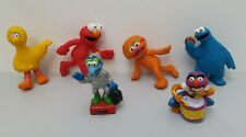 Sesame Street Henson Figures Animal Gonzo Big Bird Elmo Cookie Monster