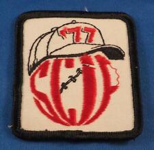 Baseball Patch SCIF 1977 Vintage