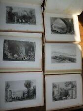 1838 BOSPHORUS & THE DANUBE by PARDOE & BARTLETT with 132 PLTS TURKEY ISTANBUL