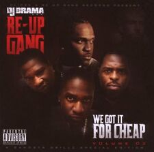DJ dramma and re-Up Gang-we got it for cheap vol.3/CD/NUOVO + OVP-SEALED!
