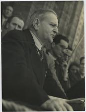 L'homme politique italien Achille Grandi Vintage silver print   Tirage