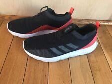 Adidas Men's Slip On Sneakers Black Size 8 GUC