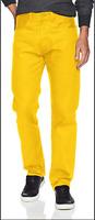 NWT Levi's Men's 501 Original STF Jean, Spector Yellow (005012703)
