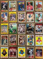 HOF Baseball Card Lot (25) Nolan Ryan, Ripken, Reggie!  ALL GREAT CONDITION!!!