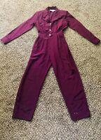 Vintage 80s 90s Romper Jumpsuit Boiler suit Disco Sexy Pantsuit Joan Walters  XL
