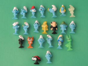 Schtroumpf figurine Micropopz Micro Popz stikeez Smurf Super U 2017 - au choix
