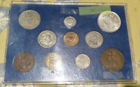 GREAT BRITAIN GEORGE VI CIRCULATED COINS SET including SILVER (38.224)