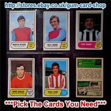 A&BC 1969 GREEN BACK - 3RD SERIES (FAIR 117 TO 170) *PICK THE CARDS YOU NEED*