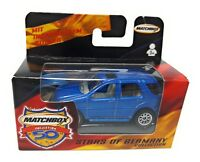 Matchbox Superfast 1-75 Mercedes ML 430 blue German Model Stars of Germany
